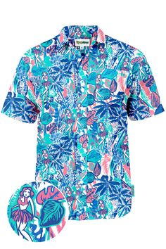 The Island Breeze Hawaiian Shirt