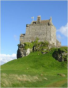 Duart Castle, home of the Maclean clan and featured in my Maclean Curse series.