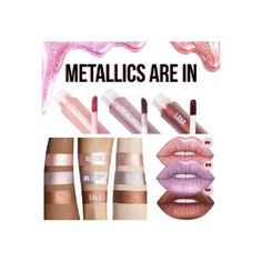 New Metallic Color Daily Color Lipgloss Shimmer Waterproof Liquid Lipstick Longlasting -- BuyinCoins.com