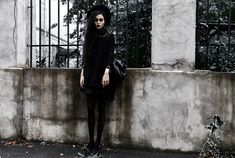 More looks by Violet Ell: http://lb.nu/user/79093-Violet-E Items in this look: Dress #gothic #grunge #vintage