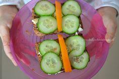 10 pomysłów na śniadanie dla dzieci - Lady Och Mistrzyni Cucumber, Vegetables, Food, Essen, Vegetable Recipes, Meals, Yemek, Zucchini, Veggies