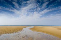 Holkham Beach in North Norfolk.