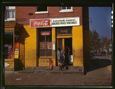 Shulman's Market (asi eran las tienditas de la esquina en Estados Unidos en la primera mitad del siglo pasado)