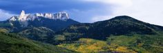 Cimarron Mountain Range in Uncompahgre National Forest, Ridgeway, Colorado Photographic Print