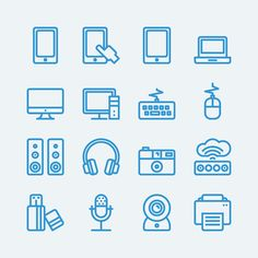 Thin line icon 20px on Behance