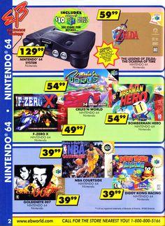90s Video Games, Video Game Posters, Video Game Rooms, Video Vintage, Vintage Video Games, Vintage Games, Nintendo 64, Game Station, Video Game Magazines