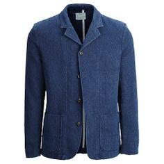 Buy Selected Homme Indigo Loose Blazer, Navy Online at johnlewis.com