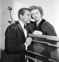 The Bachelor and the Bobby Soxer - starring Cary Grant, Myrna Loy, and Shirley Temple