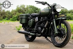 Encode ~ Beautifully painted Military Green Royal Enfield Classic | 350CC.com