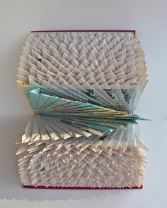 Folded World Atlas, Altered Books 2010 by robfos