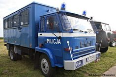 Star Police Vehicles, Police Cars, Military Police, Warsaw, Soldiers, Stars, Classic, Historia, Emergency Vehicles