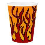 Flames Paper Cup #halloween #happyhalloween #halloweenparty #halloweenmakeup #halloweencostume