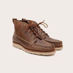 Oak Street Bootmakers   Natural Vibram Sole Camp Boot - Footwear