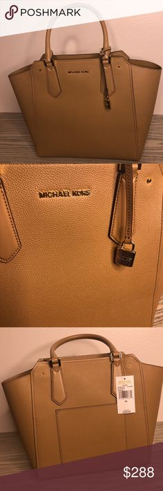 a48d6f94979415 Michael Kors Leather Handbag Brand new with tags Original value   428.00  Excellent condition Comes with