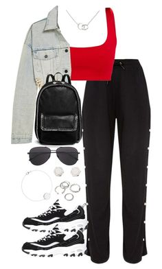"""""""Untitled #5664"""" by theeuropeancloset on Polyvore featuring Skechers, Alexander Wang, STELLA McCARTNEY, Cartier, Marc by Marc Jacobs and Forever 21"""