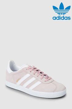 1d119a6cb6c Girls adidas Originals Pink Gazelle Youth - Pink