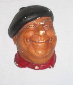 Bossons Pierre Congleton Chalk Antique Figurine England 1971 Vintage Listed on eBay @ $0.98