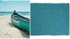 Menkhu - Hav magi Menkhu tæppe vil få dig til at tænke på havets stilhed hver gang du ser den! Denne rektangulær tæppe er bestemt beroligende. Dens dristig turkise farve vil bringe ekstra liv ind til hvilket som helst rum du placere den.