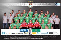 Handball DHB-Pokal mit SC DHfK Leipzig, SC Magdeburg, THW Kiel. Im Achtelfinale des Handball DHB-Pokals der Männer setzten die Han ...