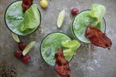 Spicy Green BLT Bloody Marys