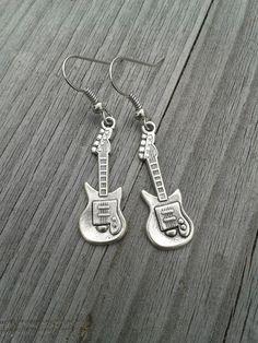 Gitarren Rock`n`Roll Rockabella Ohrringe  von Küstenmädel auf DaWanda.com