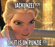 Rupunzel  is already married!!!!! Elsa and Jack are not!!! That is a great reason for them to be together