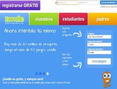 Zondle es un portal para crear videojuegos, y crear así recursos que los profesores pueden usar para su docencia. Ya hay almacenadas múltiples actividades con las que se pueden realizar casi 400.000 combinaciones diferentes, siendo el profesor quien configura el contenido. La plataforma está disponible en inglés y español. Crear sus videojuegos es muy sencillo…
