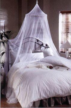 Como hacer un mosquitero para cama paso a paso imagui mosquiteros pinterest Dosel para cama nina