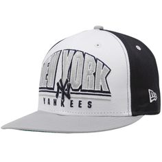 5867accedc6 New Era New York Yankees Navy Blue-White Monolith Snapback Adjustable Hat