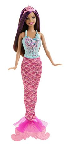 Great to buy and hold back for unexpected birthday party invitations. Barbie Fairytale Magic Mermaid Teresa Doll Under $5!!