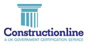 Constructionline UK Government Certification