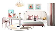 Faux Leather Walls, Design Magazine, Kidsroom, Kid Spaces, Toddler Bed, Cabinet, Children, Furniture, Home Decor