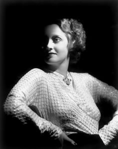 Bette Davis by George Hurrell.