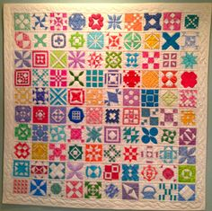 Quilt by Anne Brill of Washington, DC.