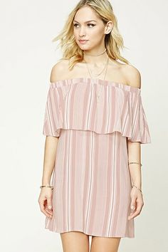 Contemporary Striped Dress | FOREVER21 - 2000251976