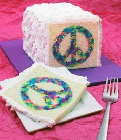How To Make A Tye-Dye Cake! This Is So Cool! #Food #Drink #Trusper #Tip