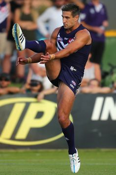 Matthew Pavlich of the Fremantle Dockers
