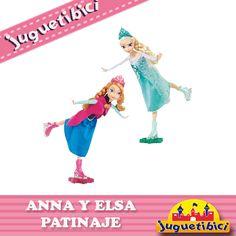 Anna y Elsa  Frozen Patinaje