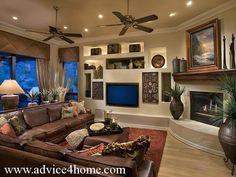 dream house Living Room Decor With Dark Brown Couch Kgwhhxsj dark brown couch living room decor Relaxed modern living room