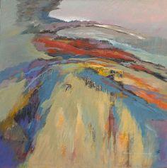 Along the Ridge by Sheila Marlborough, UK artist