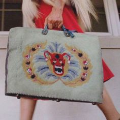 AHS Freakshow; Elsa Mars Devil-faced handbag
