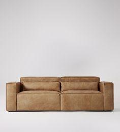 Modern Interior Design Tips 7 Best Tan leather sofas Tan Leather Sofas, Modern Leather Sofa, Modern Sofa, Modern Living, Swoon Editions, Sofa Inspiration, Best Tan, Three Seater Sofa, L Shaped Sofa