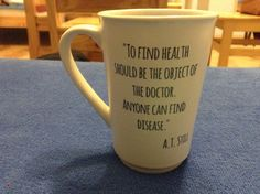 Osteopathy it is!  #osteopathy #andrew #taylor #still #best #mug #ever