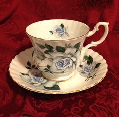 Vintage Royal Albert Bone China Tea Cup & by BullfrogHollow