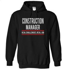 CONSTRUCTION MANAGER - real job #tee #T-Shirts. MORE INFO => https://www.sunfrog.com/Funny/CONSTRUCTION-MANAGER--real-job-5569-Black-4853414-Hoodie.html?60505