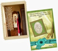 """Didi @ Relief Society: YW Come Follow Me, October 2013 - """"Becoming More Christlike"""" - scripture and quote card"""