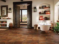 Armstrong Saltillo Tile Is A Vinyl Floor But Not A Cheap