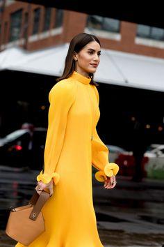El amarillo brilla en Nueva York