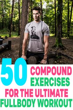 Healthy Man workouts for specific body parts - If you want to put on muscle and build serious functional strength, the exercises on this list is all you will ever need. These compound exercises should be the foundation of any fitness routine. Training Motivation, Fitness Motivation Quotes, Cycling Motivation, Mens Fitness, Fitness Tips, Group Fitness, Compound Exercises, Compound Lifts, Muscle Building Workouts