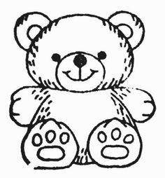 Teddy bears coloring page 48